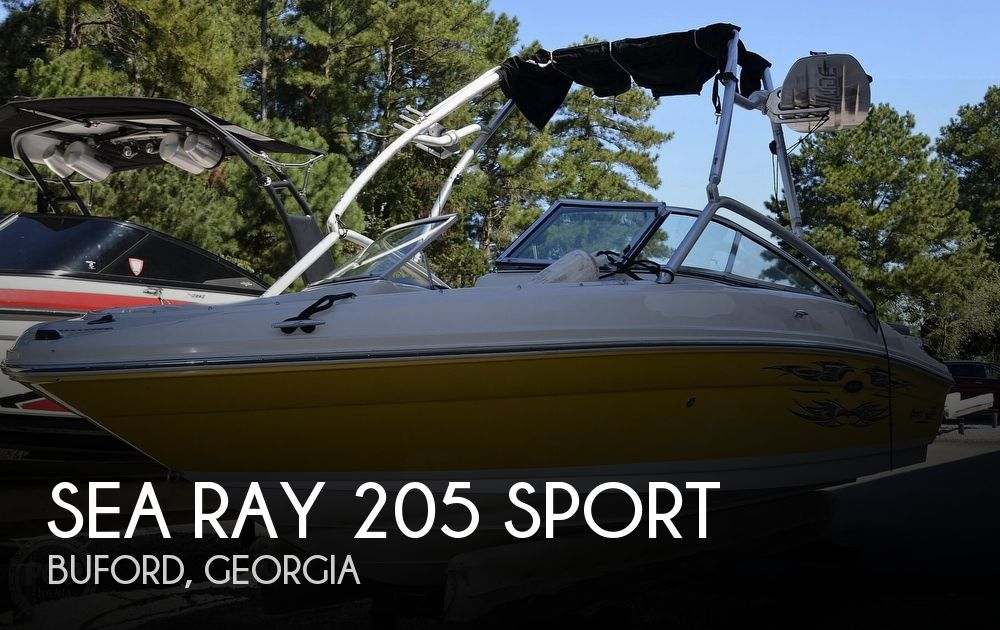 2008 Sea Ray boat for sale, model of the boat is 205 Sport & Image # 1 of 40