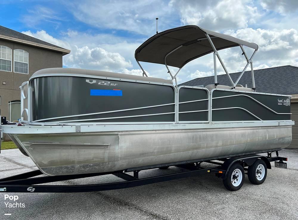 2017 SunCatcher boat for sale, model of the boat is V22 RF & Image # 15 of 40