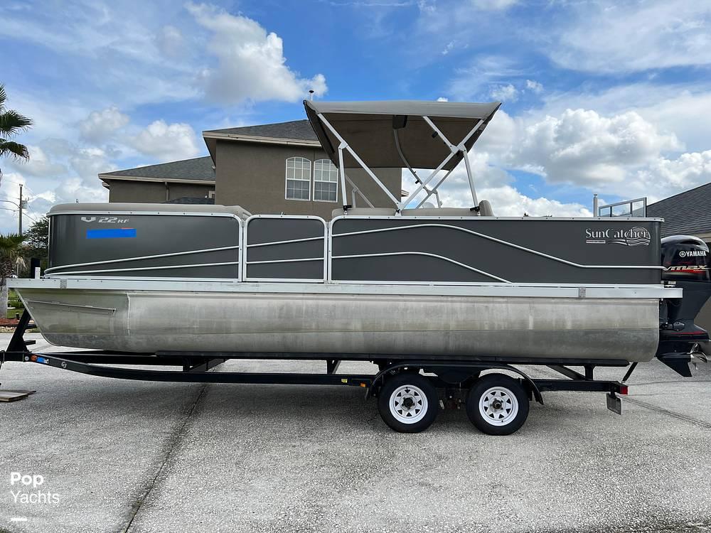 2017 SunCatcher boat for sale, model of the boat is V22 RF & Image # 16 of 40