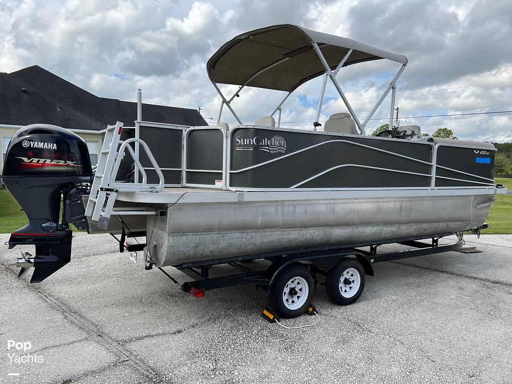 2017 SunCatcher boat for sale, model of the boat is V22 RF & Image # 20 of 40