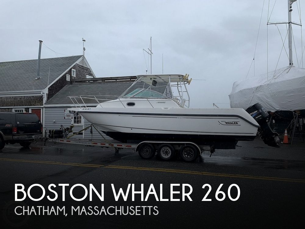 Used Boston Whaler 26 Boats For Sale by owner | 2001 Boston Whaler Conquest 260