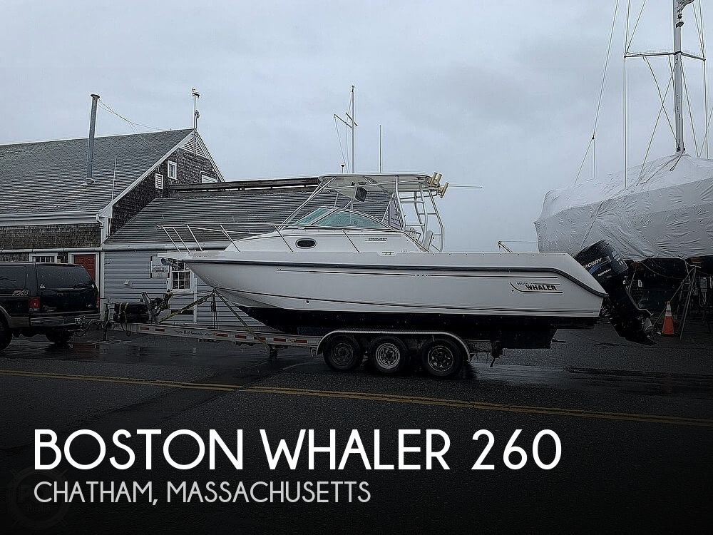 2001 Boston Whaler boat for sale, model of the boat is 260 Conquest & Image # 1 of 40