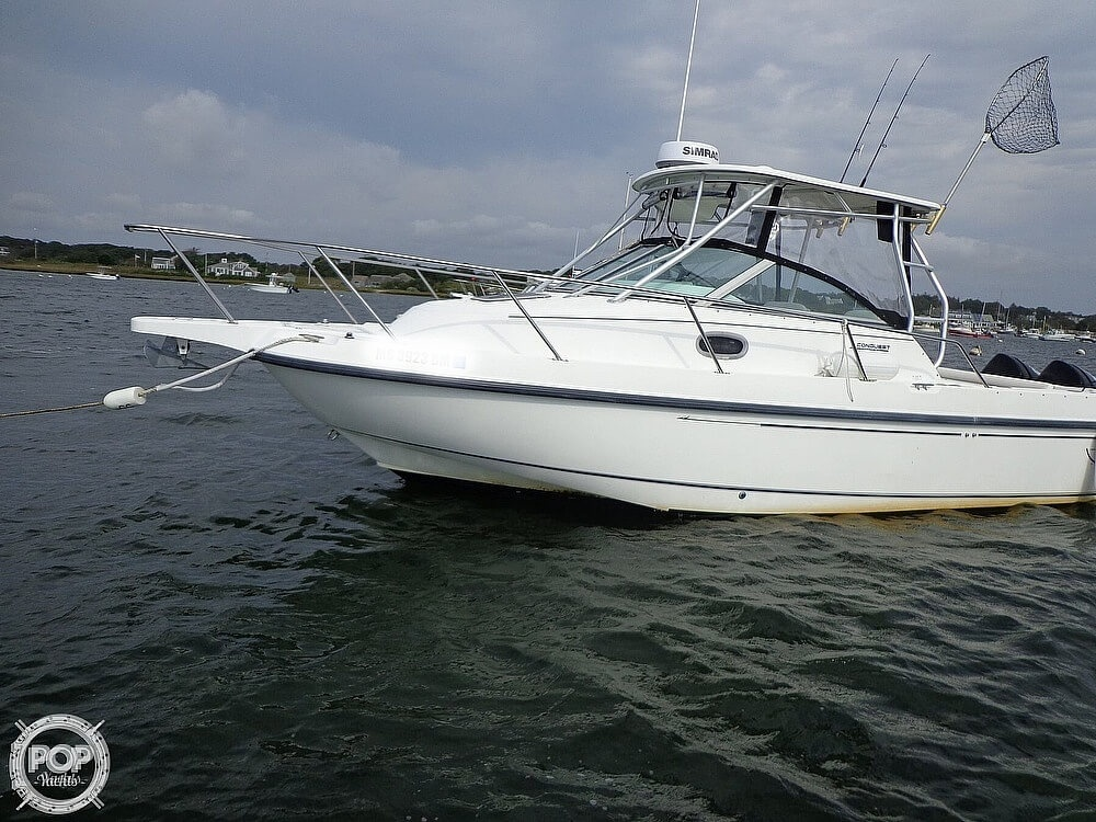 2001 Boston Whaler boat for sale, model of the boat is 260 Conquest & Image # 3 of 40