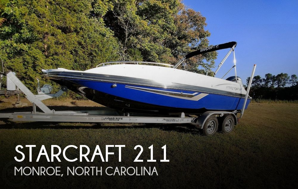 2018 Starcraft boat for sale, model of the boat is MDX 211 E OB & Image # 1 of 40