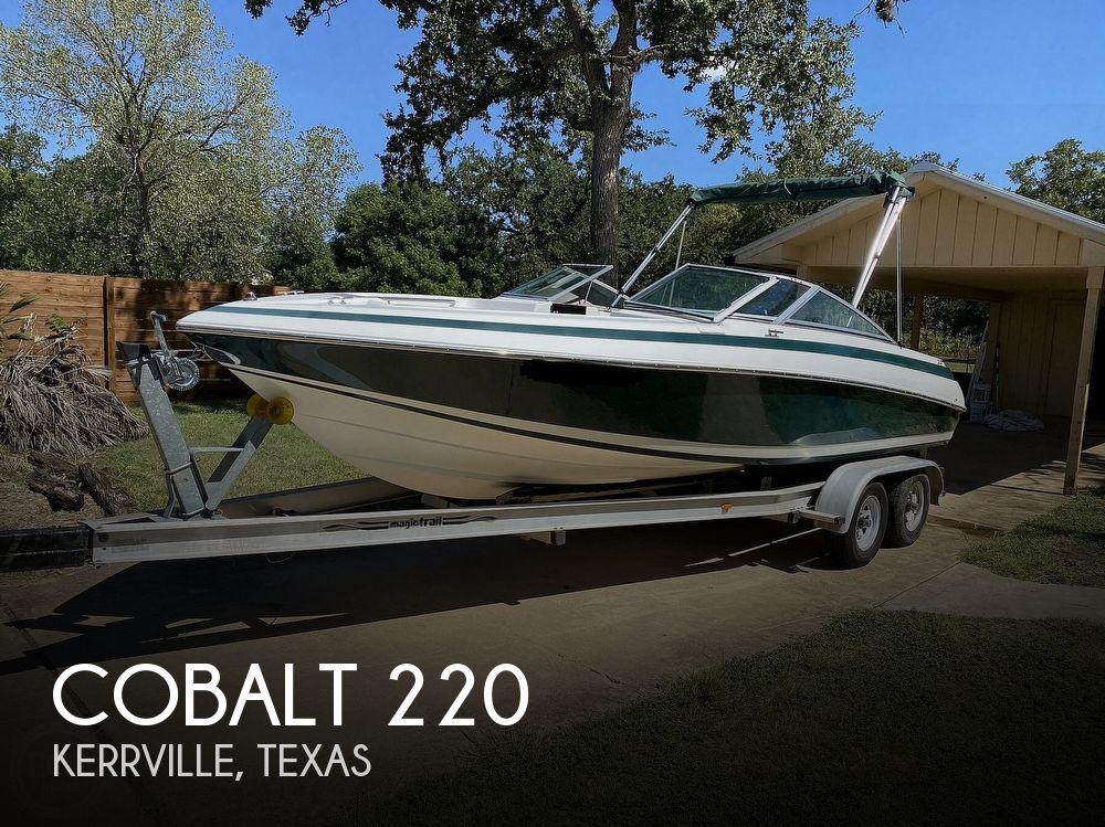 1993 Cobalt boat for sale, model of the boat is 220 & Image # 1 of 40