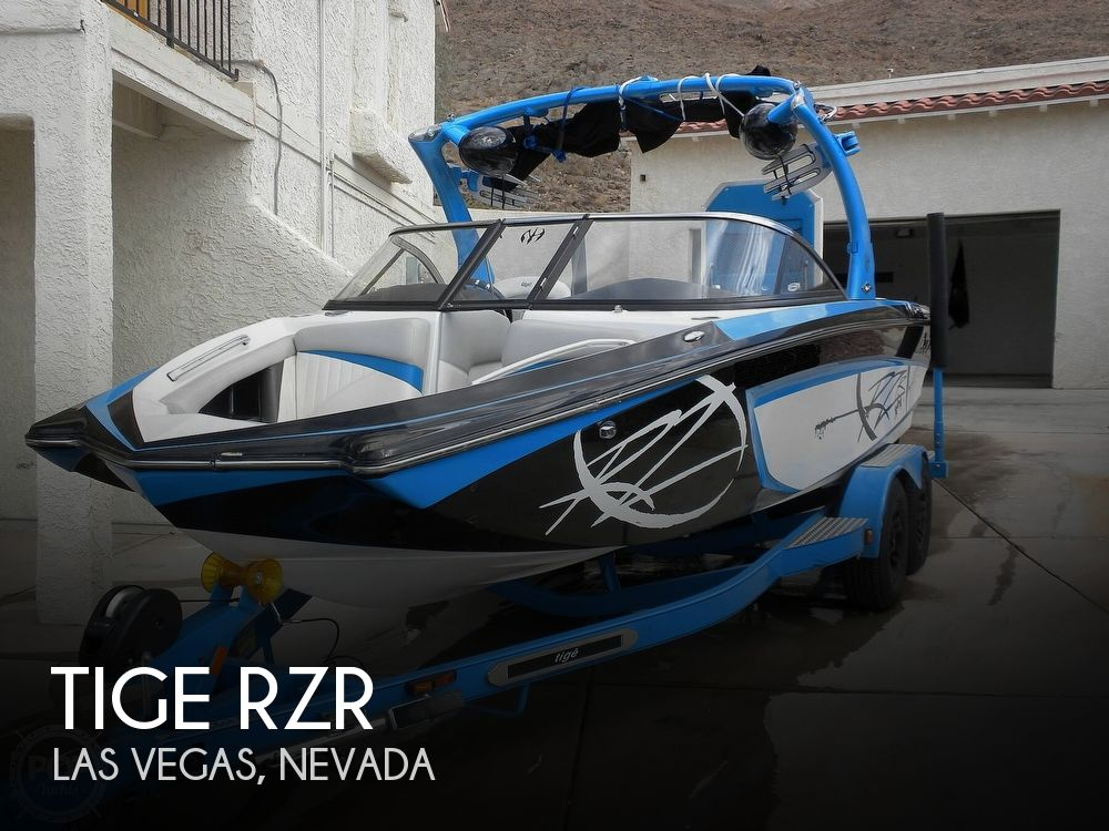 2011 Tige boat for sale, model of the boat is RZR & Image # 1 of 40