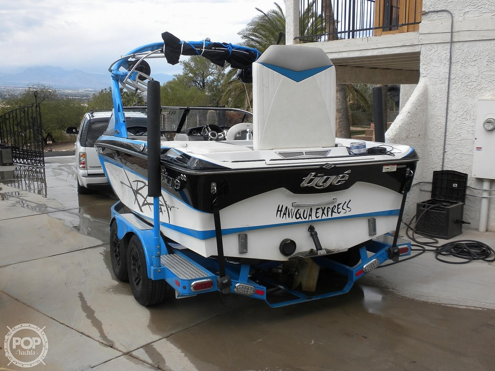 2011 Tige boat for sale, model of the boat is RZR & Image # 8 of 40