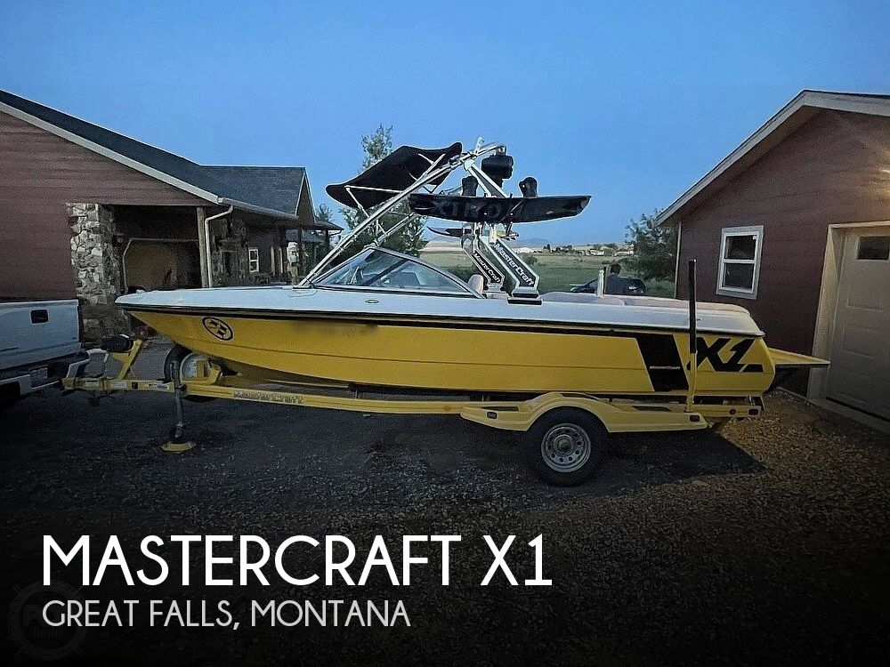 2007 Mastercraft boat for sale, model of the boat is X1 & Image # 1 of 8