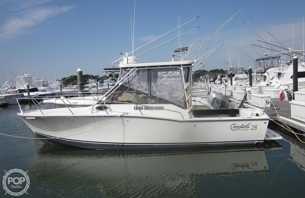 1998 Carolina Classic boat for sale, model of the boat is 28 Express & Image # 5 of 40