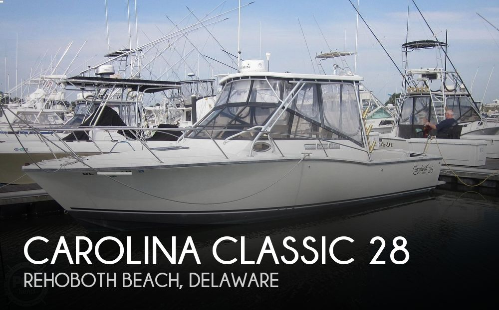 1998 Carolina Classic boat for sale, model of the boat is 28 Express & Image # 1 of 40
