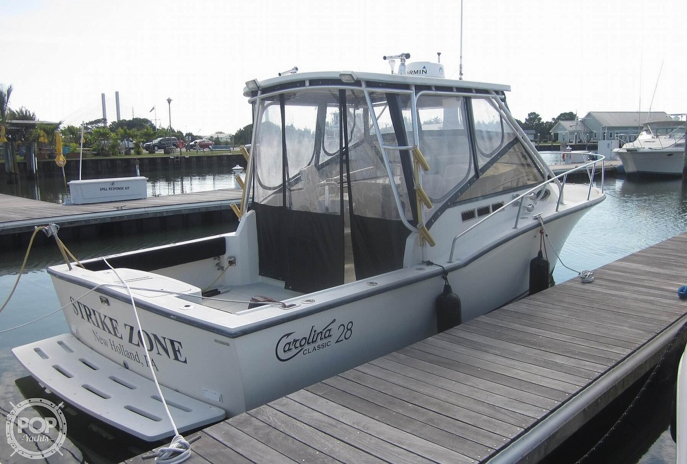 1998 Carolina Classic boat for sale, model of the boat is 28 Express & Image # 8 of 40
