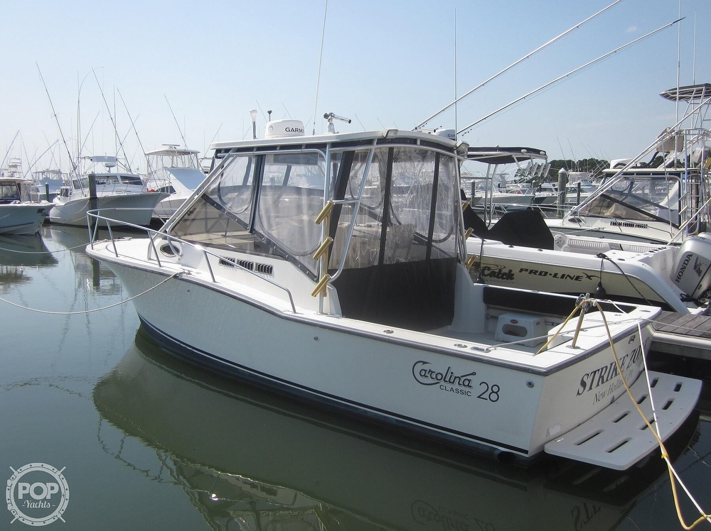 1998 Carolina Classic boat for sale, model of the boat is 28 Express & Image # 6 of 40
