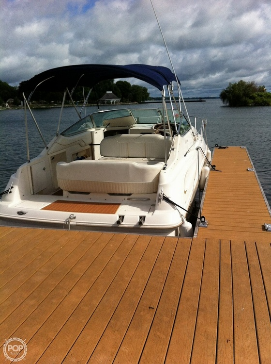 1998 Monterey boat for sale, model of the boat is 242 Cruiser & Image # 4 of 40