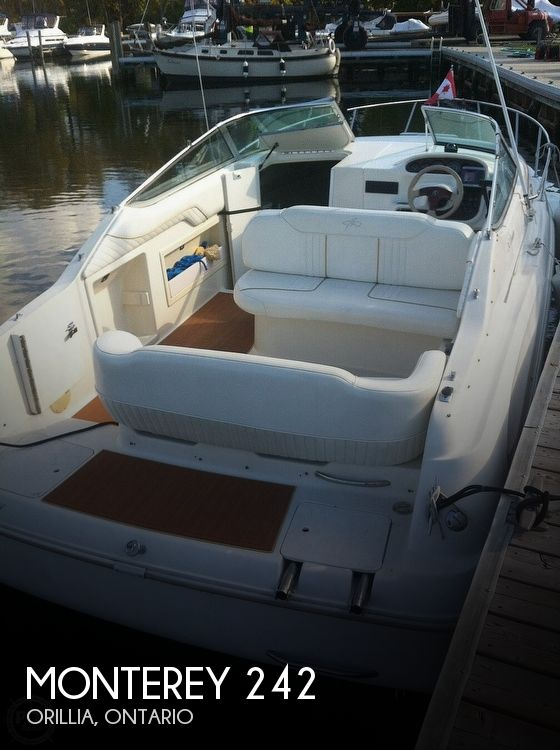 1998 Monterey boat for sale, model of the boat is 242 Cruiser & Image # 1 of 40