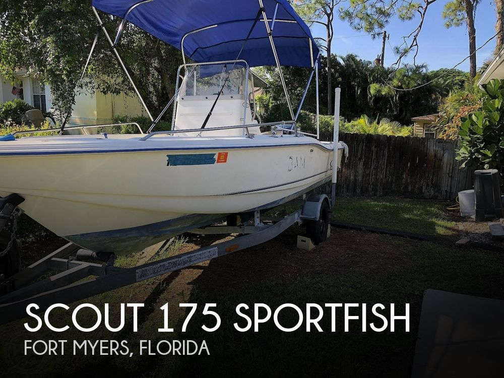 1999 Scout boat for sale, model of the boat is 175 Sportfish & Image # 1 of 40