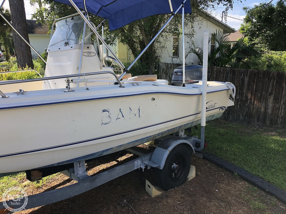 1999 Scout boat for sale, model of the boat is 175 Sportfish & Image # 11 of 40