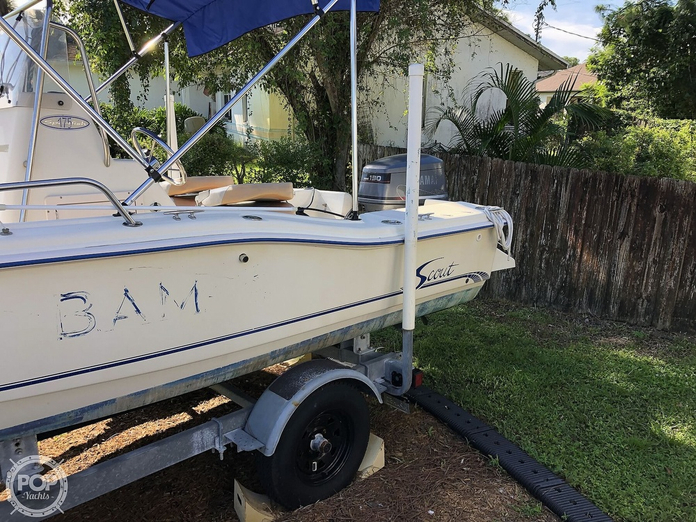 1999 Scout boat for sale, model of the boat is 175 Sportfish & Image # 15 of 40