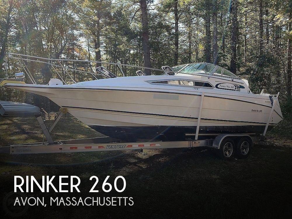 1994 Rinker boat for sale, model of the boat is 260 Fiesta Vee & Image # 1 of 40