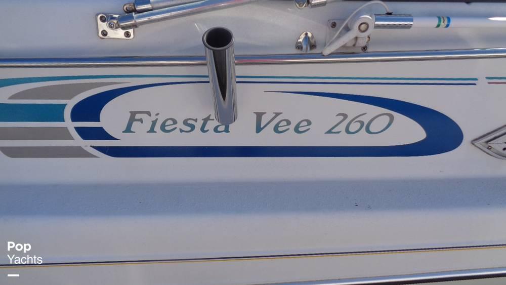 1994 Rinker boat for sale, model of the boat is 260 Fiesta Vee & Image # 32 of 40