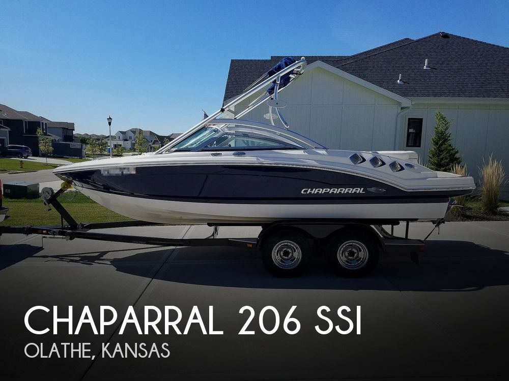 2012 Chaparral boat for sale, model of the boat is 206 SSI & Image # 1 of 40