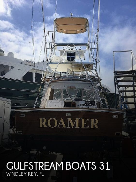 1989 Gulfstream Boats boat for sale, model of the boat is 31 Tournament Express & Image # 1 of 40