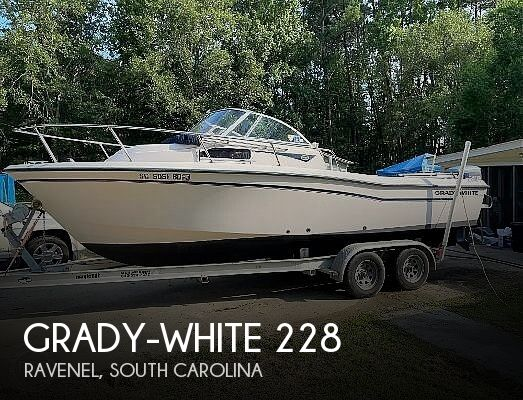 1998 Grady-White boat for sale, model of the boat is 228 Seafarer & Image # 1 of 6