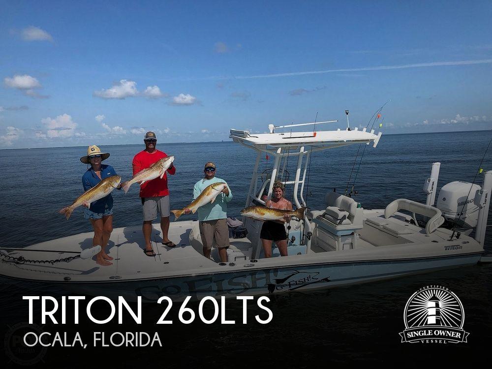 2019 TRITON 260LTS for sale