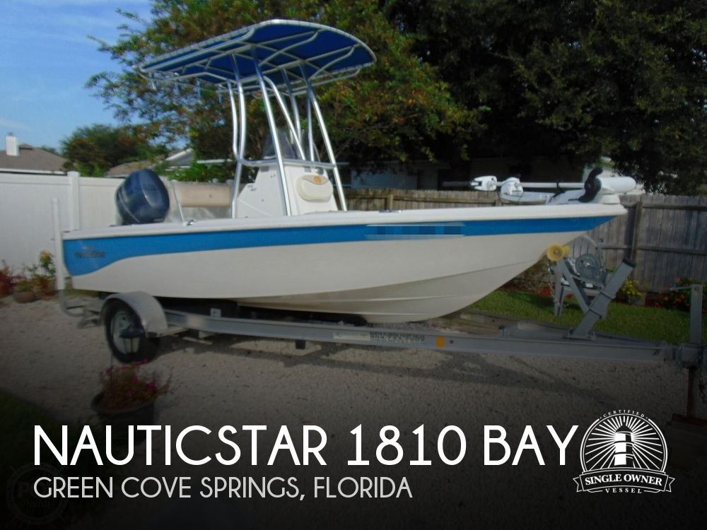 2017 Nautic Star boat for sale, model of the boat is 1810 Bay & Image # 1 of 40