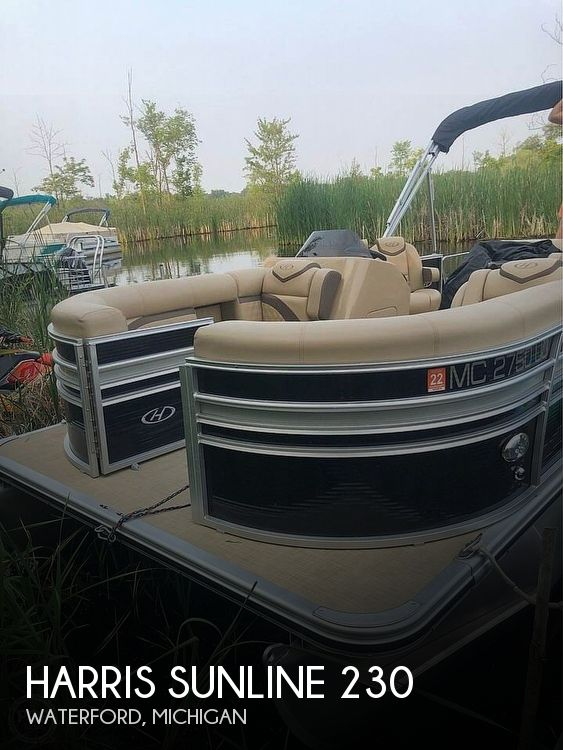Used Harris Boats For Sale in Detroit, Michigan by owner | 2019 Harris Sunline 230