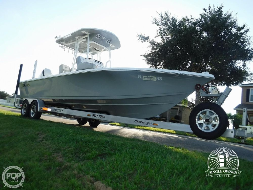2019 Sea Pro boat for sale, model of the boat is 248 DLX & Image # 16 of 40