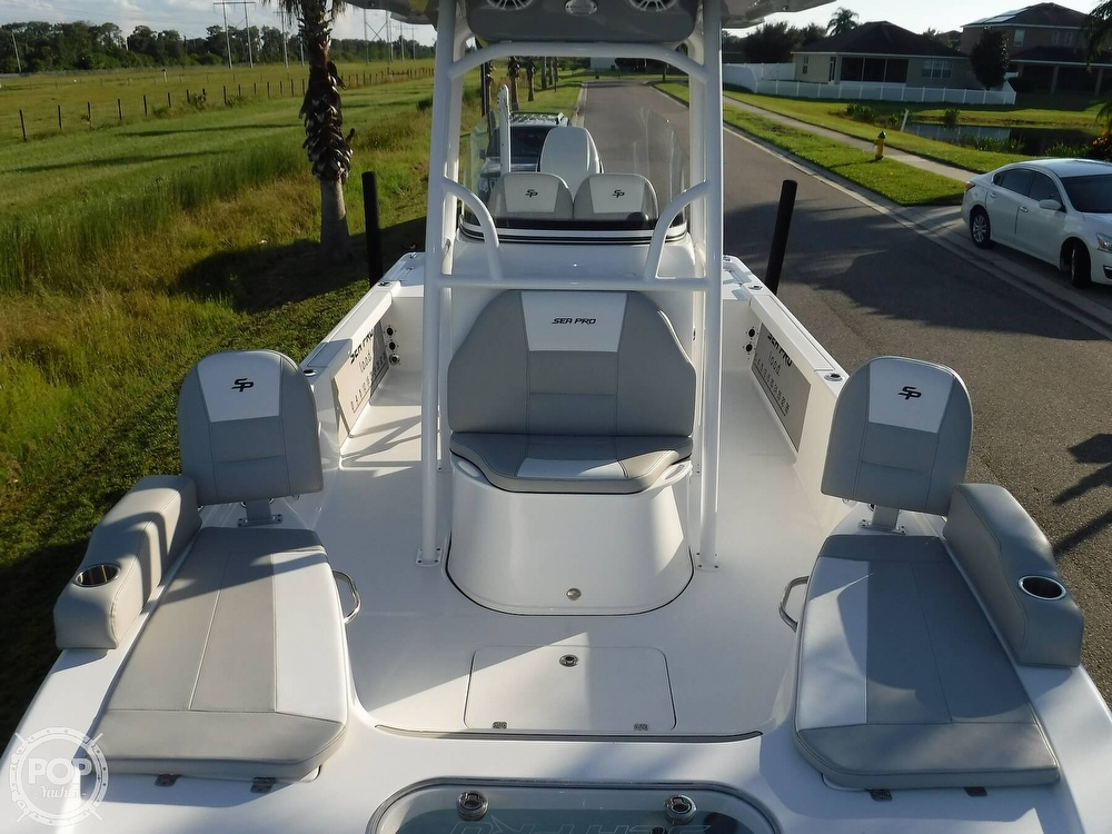 2019 Sea Pro boat for sale, model of the boat is 248 DLX & Image # 38 of 40