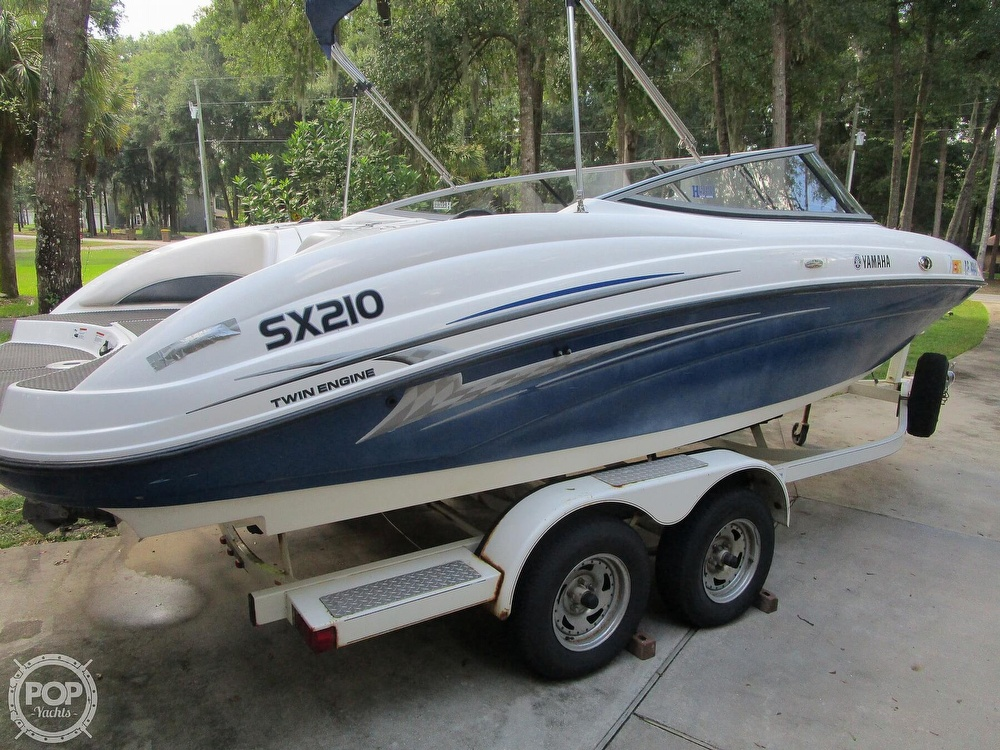 2006 Yamaha boat for sale, model of the boat is SX210 & Image # 15 of 40