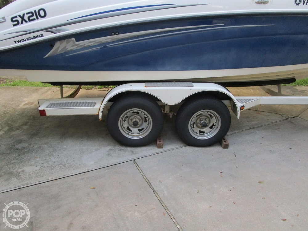 2006 Yamaha boat for sale, model of the boat is SX210 & Image # 16 of 40