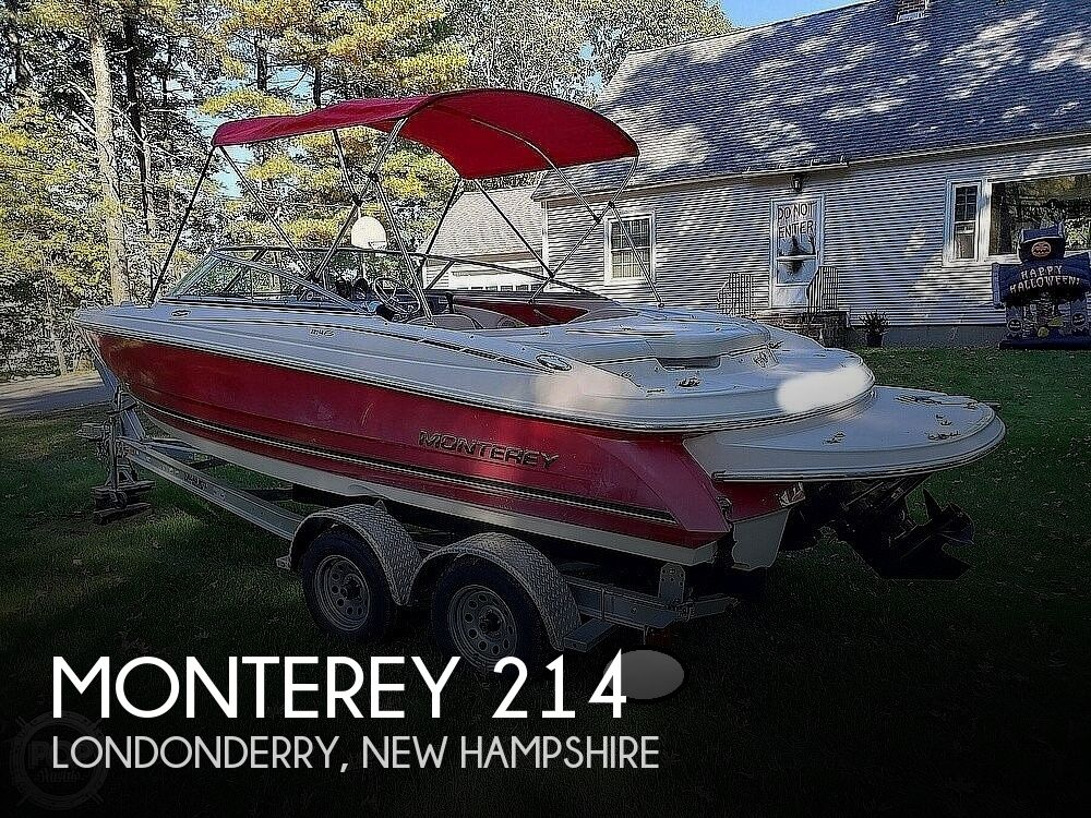 2006 Monterey boat for sale, model of the boat is Montura 214fs & Image # 1 of 40