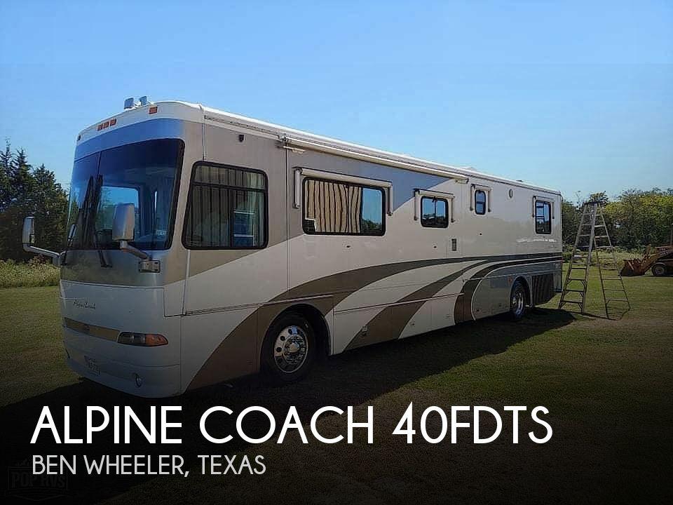 2000 Western RV Alpine Coach 40FDTS