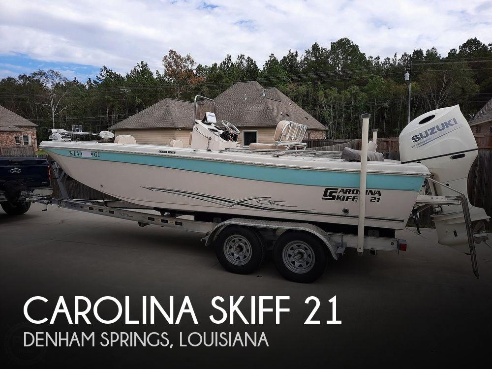 2019 Carolina Skiff boat for sale, model of the boat is Ultra Elite 21 & Image # 1 of 40