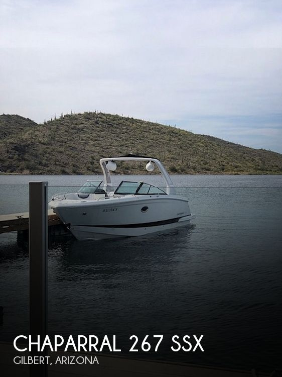 Used Boats For Sale in Arizona by owner | 2018 Chaparral 267 SSX