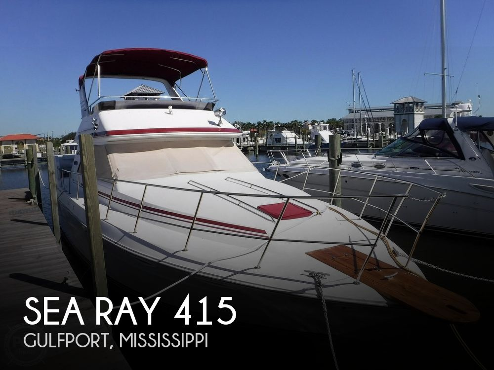 1988 Sea Ray boat for sale, model of the boat is 415 Aft Cabin & Image # 1 of 40