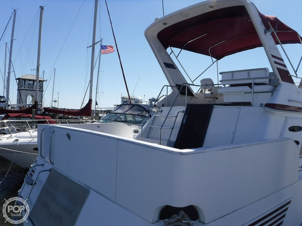 1988 Sea Ray boat for sale, model of the boat is 415 Aft Cabin & Image # 4 of 40
