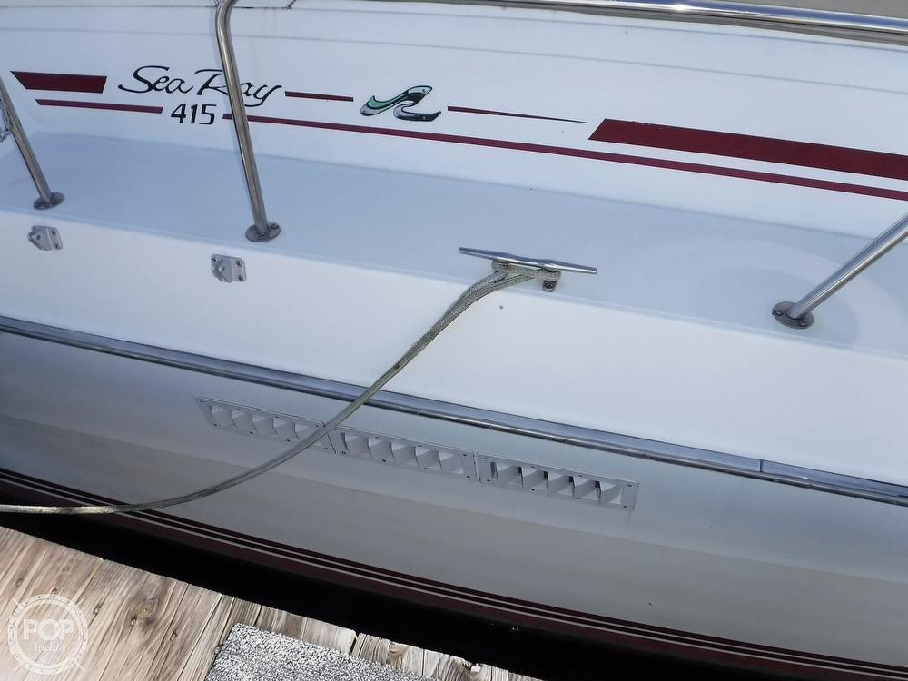 1988 Sea Ray boat for sale, model of the boat is 415 Aft Cabin & Image # 24 of 40