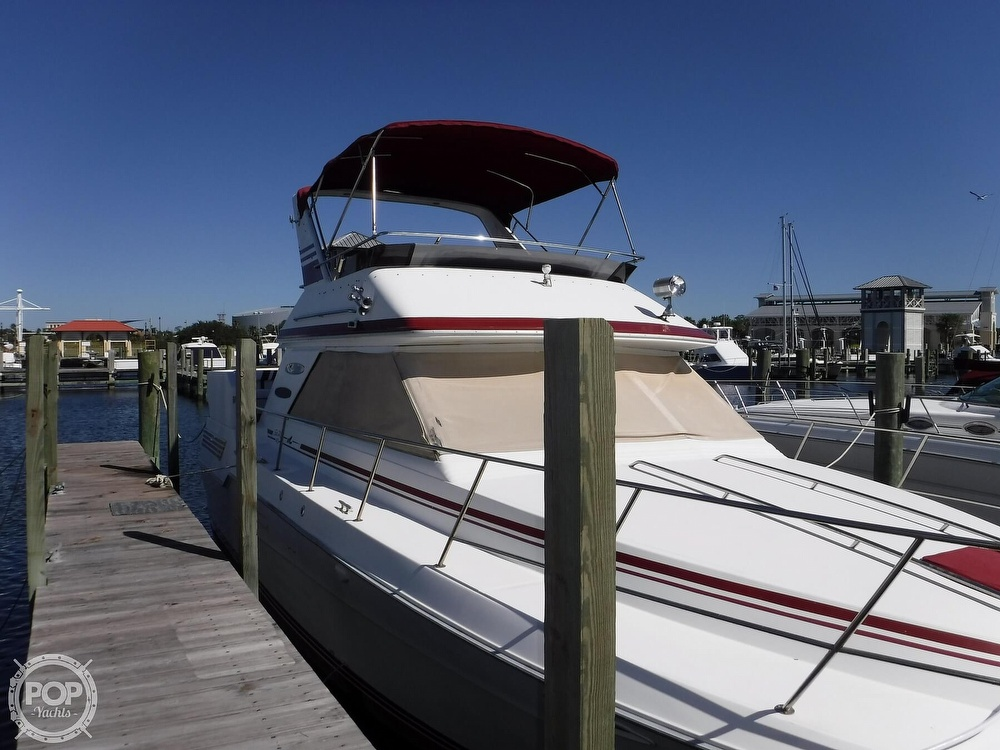 1988 Sea Ray boat for sale, model of the boat is 415 Aft Cabin & Image # 31 of 40