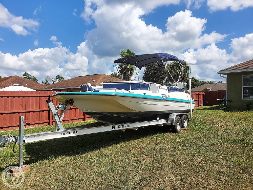 1995 Hurricane boat for sale, model of the boat is 24 Fun Deck & Image # 4 of 40