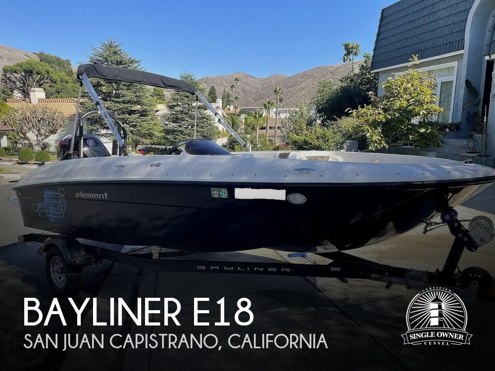 2021 Bayliner boat for sale, model of the boat is E18 & Image # 1 of 40