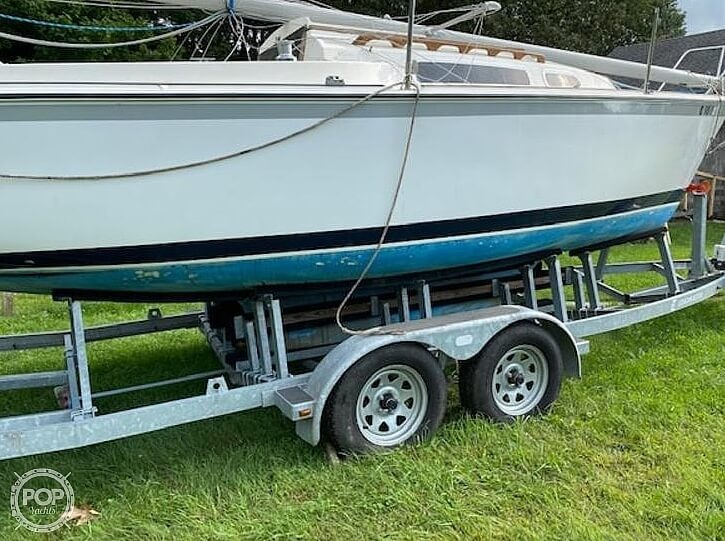 1978 O'day boat for sale, model of the boat is 23-2 & Image # 3 of 9