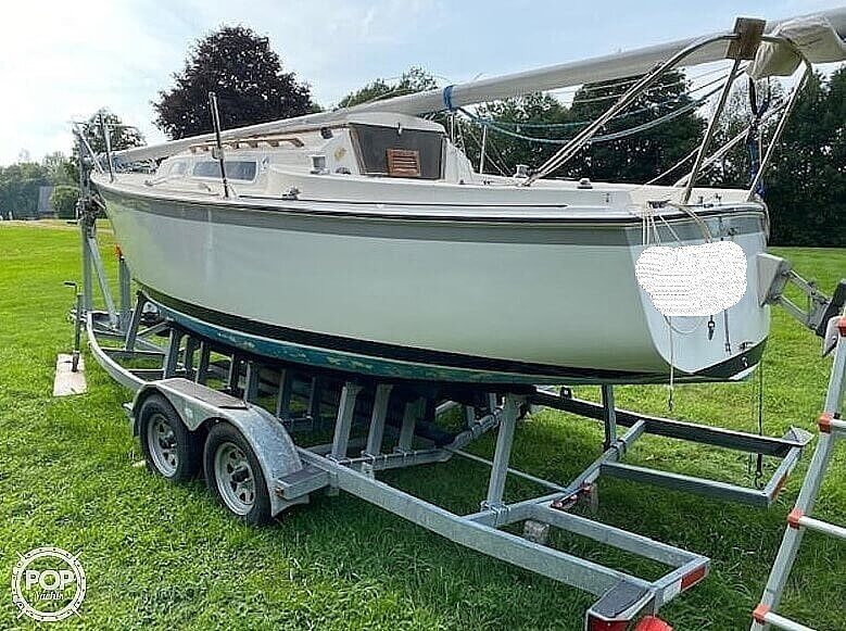 1978 O'day boat for sale, model of the boat is 23-2 & Image # 2 of 9