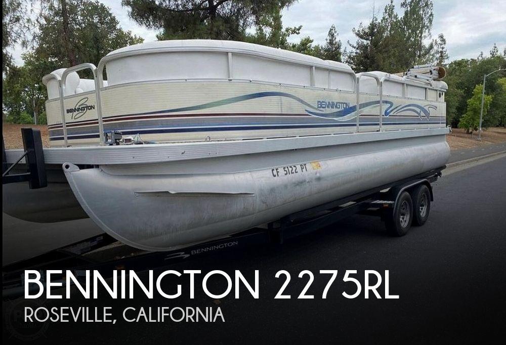 Used Bennington 22 Boats For Sale by owner   2001 Bennington 2275RL