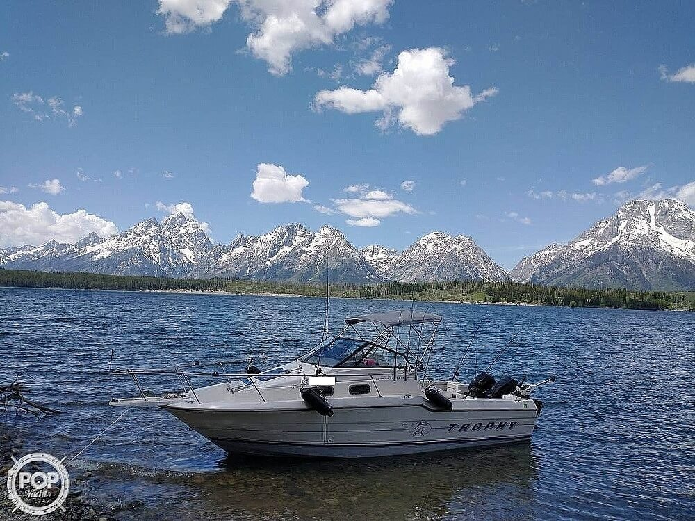 1993 Trophy boat for sale, model of the boat is 2502 WA & Image # 4 of 34