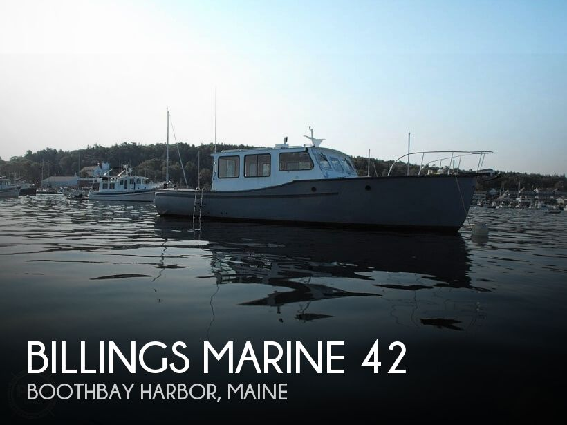 1949 Billings Marine boat for sale, model of the boat is 42 Maine Marine Patrol & Image # 1 of 12