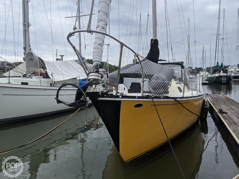 1974 C & C boat for sale, model of the boat is 35 Mark II & Image # 2 of 40