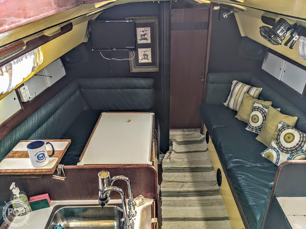 1974 C & C boat for sale, model of the boat is 35 Mark II & Image # 3 of 40